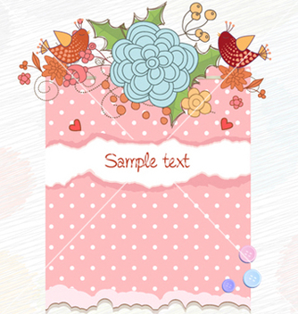 Free spring frame vector - Free vector #258903