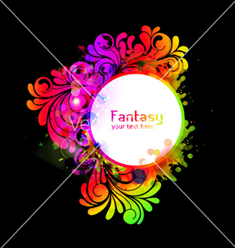 Free colorful frame vector - vector gratuit #259103