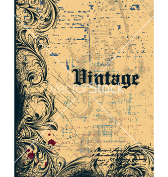 Free vintage background vector - Kostenloses vector #259233
