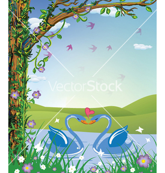 Free love birds vector - бесплатный vector #259563