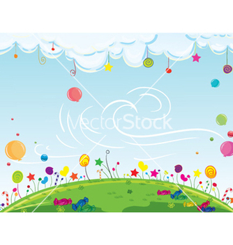 Free cartoon background vector - Kostenloses vector #259833