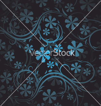 Free seamless floral pattern vector - Free vector #259973