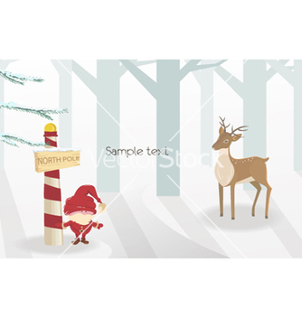 Free christmas background vector - Free vector #260003
