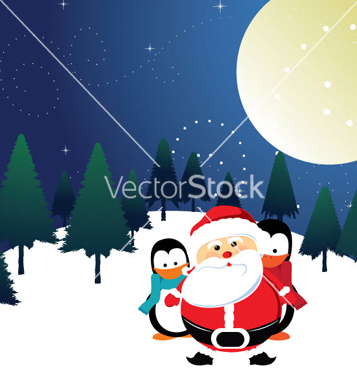 Free christmas greeting card vector - Free vector #260393