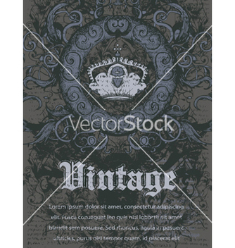 Free vintage background vector - Free vector #261313