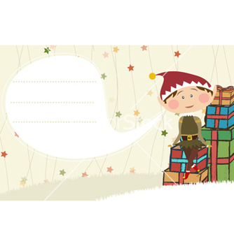 Free christmas card vector - Free vector #261323