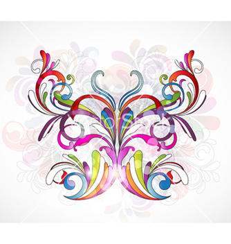 Free colorful abstract vector - Free vector #261543