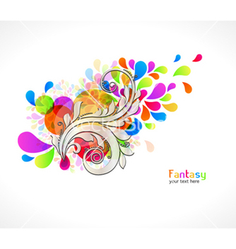 Free colorful abstract background vector - бесплатный vector #261623