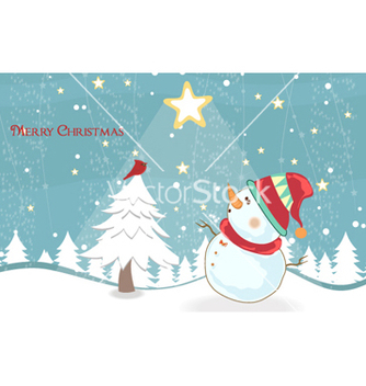 Free winter background vector - vector #261633 gratis