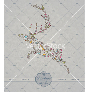 Free vintage christmas label vector - бесплатный vector #261753