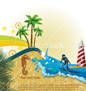 Free summer background vector - Free vector #261803