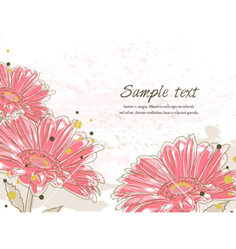 Free spring floral background vector - Kostenloses vector #261853