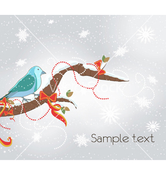 Free winter background vector - Kostenloses vector #261883