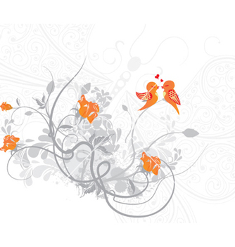 Free love birds vector - vector #261963 gratis