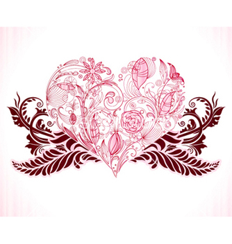 Free valentine background vector - Free vector #262093
