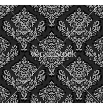 Free damask seamless background vector - Kostenloses vector #262113
