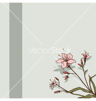 Free spring floral background vector - Free vector #262123