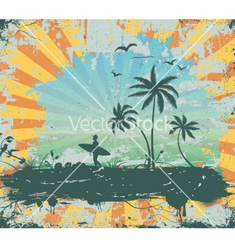 Free summer grunge background vector - Free vector #262133