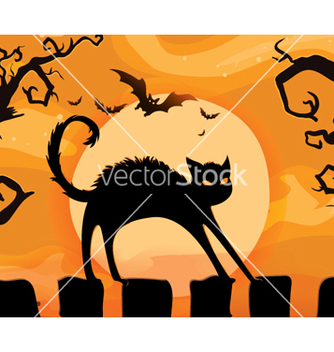 Free halloween background vector - Free vector #262353