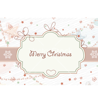 Free christmas frame vector - Free vector #262443