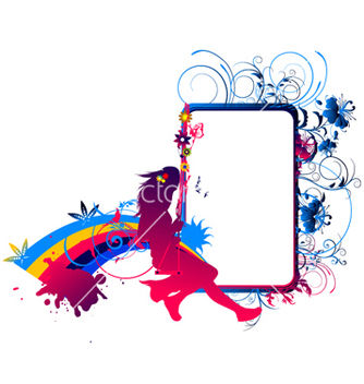 Free colorful abstract vector - vector #262583 gratis