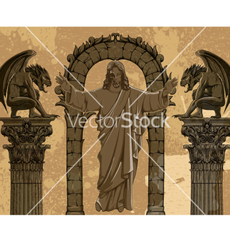 Free grunge gothic vector - vector gratuit #262833