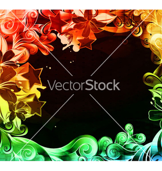 Free colorful abstract background vector - бесплатный vector #263023