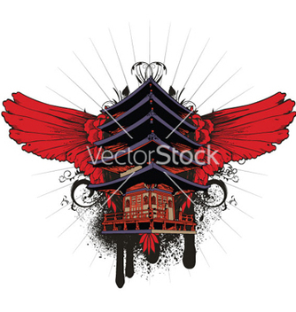 Free japanese emblem vector - Kostenloses vector #263083