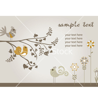Free spring floral vector - Free vector #263593