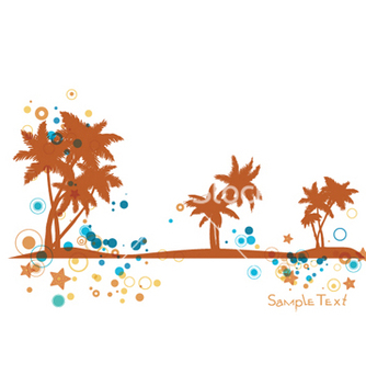 Free summer background vector - Free vector #263633