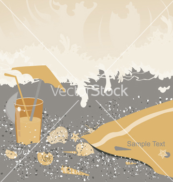 Free summer background vector - Free vector #263803