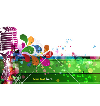 Free colorful music vector - Kostenloses vector #264053