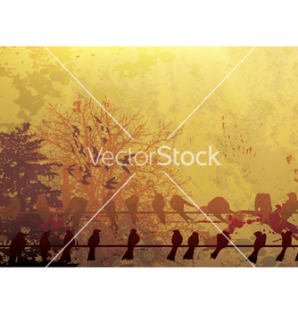 Free grunge autumn background vector - Free vector #264193