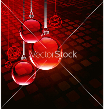 Free christmas greeting card vector - Kostenloses vector #264673