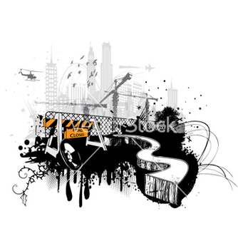 Free urban background vector - Kostenloses vector #264773