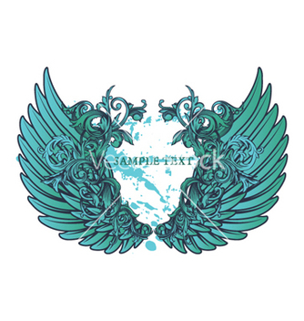 Free grunge wings vector - Kostenloses vector #264793