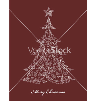 Free christmas tree vector - Free vector #264833