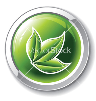 Free environmental glossy button vector - Kostenloses vector #264893