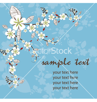Free spring floral vector - Free vector #265083