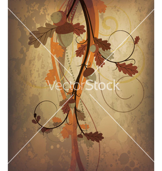 Free autumn grunge background vector - Free vector #265123