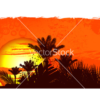 Free grunge summer background vector - Free vector #265153