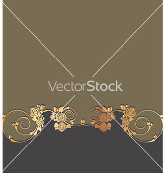 Free gold floral background vector - Free vector #265213