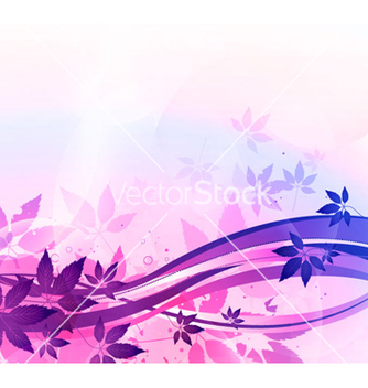 Free colorful floral background vector - бесплатный vector #265253