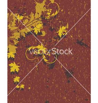 Free vintage floral background vector - Free vector #265493