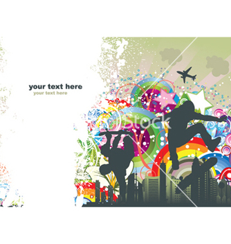 Free urban background vector - Kostenloses vector #265503