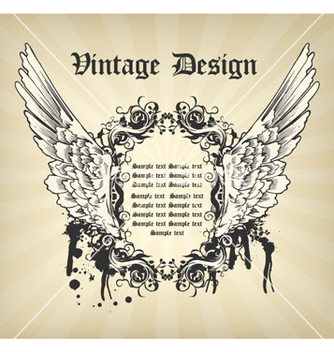 Free vintage frame vector - Free vector #265573