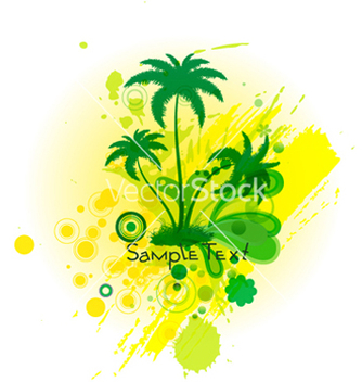 Free summer background vector - Free vector #265793