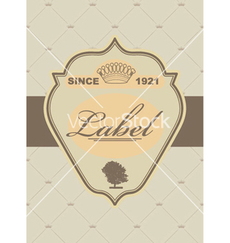 Free vintage label vector - бесплатный vector #265963