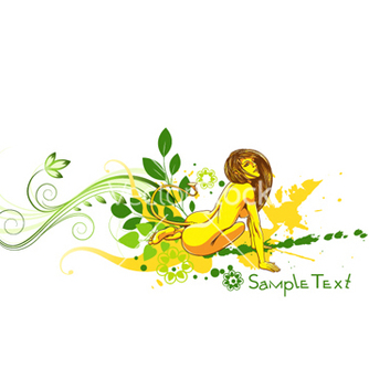 Free colorful floral vector - vector gratuit #266283