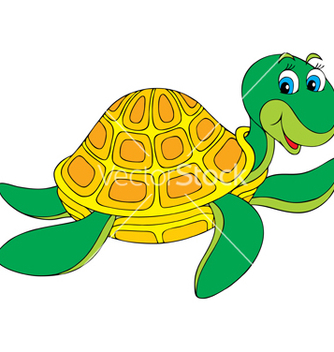 Free turtle vector - Free vector #266853